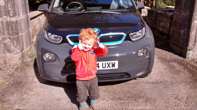 Next Generations: Grandson William and BMWi3