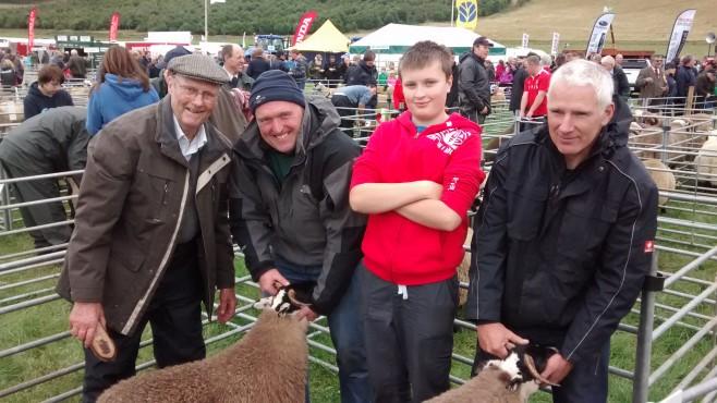 Gideon, Eon, Gregor and Donald